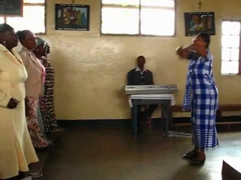 ARUSHA - CHÓR KOŚCIELNY (Misja Tanzania 2012)