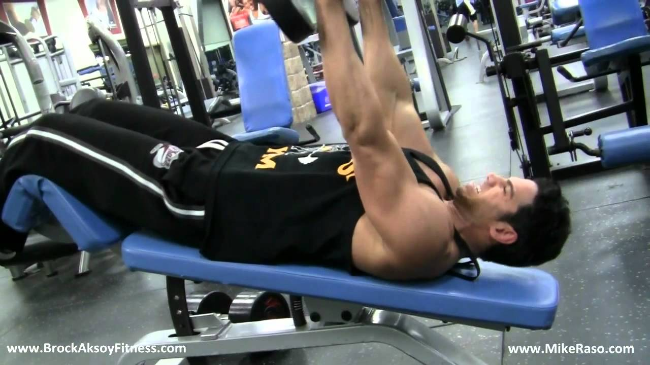 Best Lower Chest Exercise On Decline Bench Brock Aksoy Mike Raso