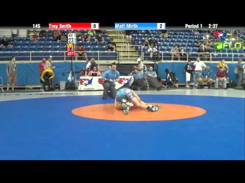 Junior 145 - Trey Smith (Virginia) vs. Matt Mirth (Pennsylvania)