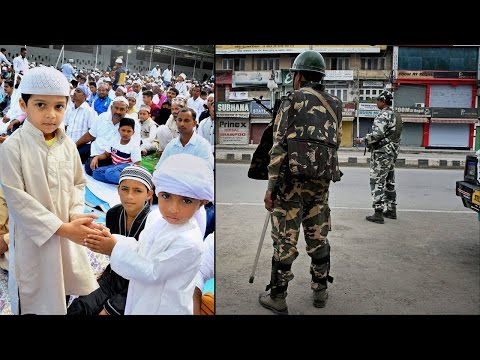 Kashmir Unrest : Curfew imposed in valley for first time on Eid | Oneindia News
