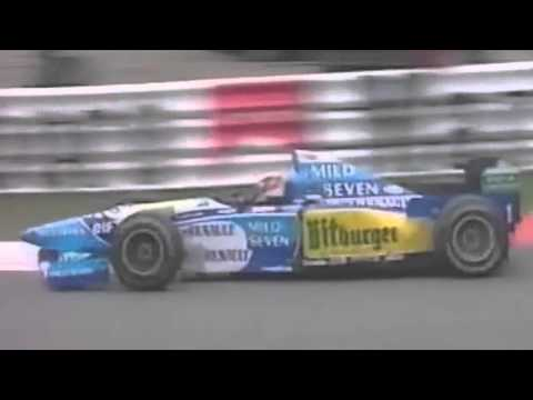 Michael Schumacher 16th Victory - Spa 1995