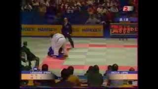 JUDO 2001 World Championships: Kosei Inoue 井上 康生 (JPN) –Ghislain Lemaire (FRA)