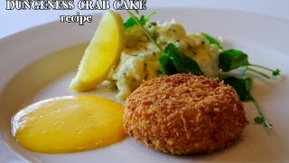 Easy Recipe : Dungeness Crab Cake