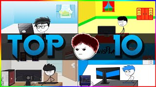 TOP 10 UNDERRATED Stickman Youtubers You Don't Know About 2018