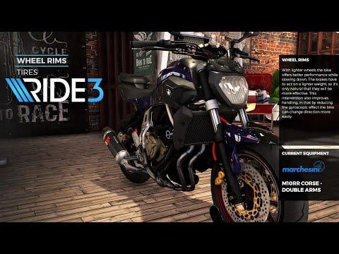 Ride 3 Yamaha MT-07 Customization   Aggressive Gameplay