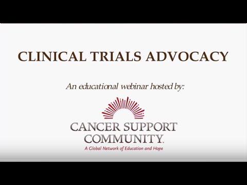 Webinar: Clinical Trials Advocacy