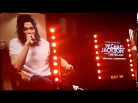 "NAVI ""MJ IMPERSONATOR"" PERFORMS INSIDE AVALON HOLLYWOOD"