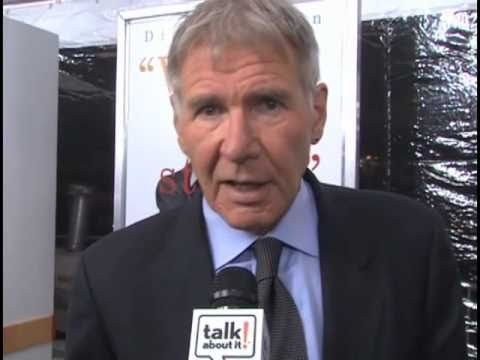 "Harrison Ford Talks About It During the Premiere of ""Morning Glory"""