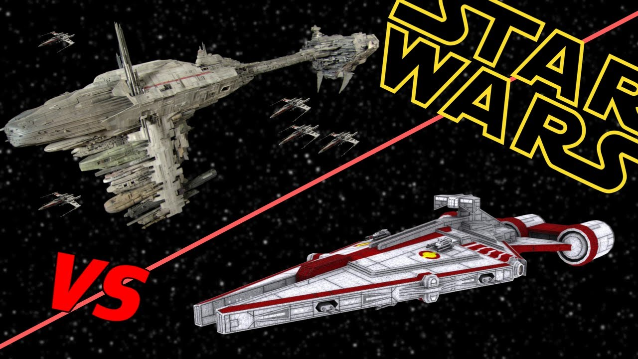 Nebulon B Frigate Vs Arquitens Light Cruiser Star Wars Who Would
