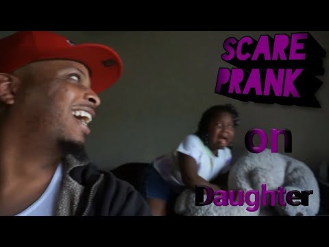 Pop Up Scare Prank On Daughter🤣🤣🤣😭