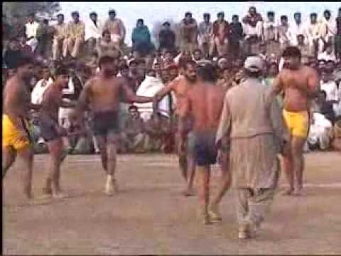 Kabbadi 2010 in M.B.Din by Sahab Part 06