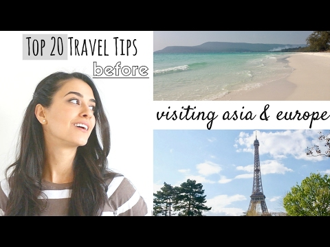 TOP TRAVEL TIPS » 20 to know before you go!