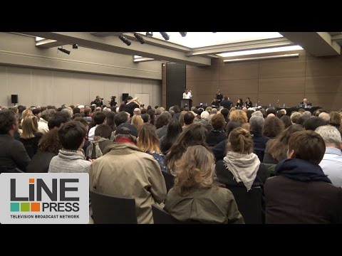 """Forum contre Marine Le Pen et le parti de la haine"" / Paris - France 18 avril 2017"