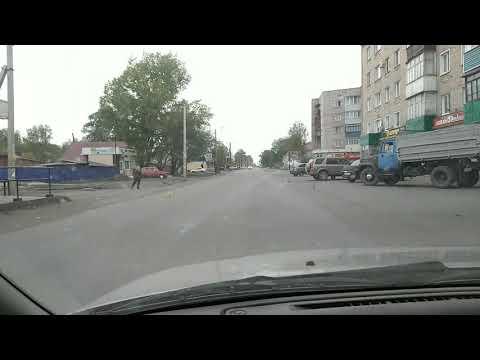 Продолжаем покатушки по Рубцовску. Район Сад-город.