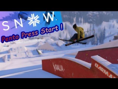 Pento Press Start - Snow