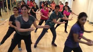 Aerobics Group dance