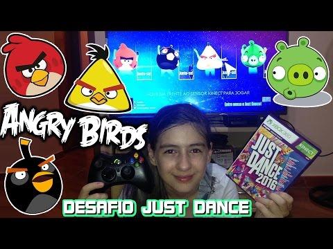 Desafio Just Dance Angry Birds  Coreografia Dança Jogo Filme Game Challenge