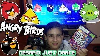 Baixar Desafio Just Dance Angry Birds 2016 (Coreografia, Dança, Jogo, Filme) Game Challenge