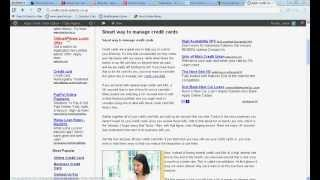 Credit Card Payment Options-Cash Advance Credit Card