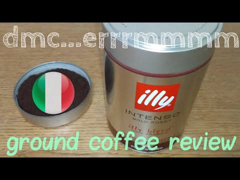 Illy Intenso Ground Coffee Review Youtube