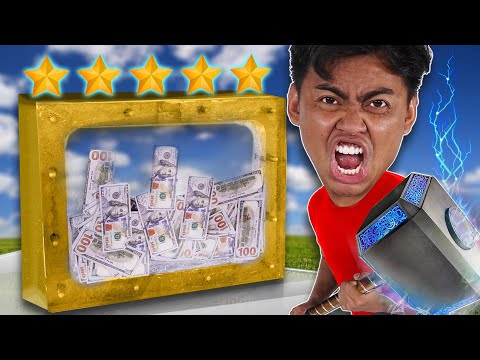 This $100,000 Glass Cannot Be DESTROYED! (UNBREAKABLE GLASS CHALLENGE)