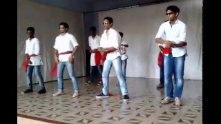 coolest malayalam dance #rockaankuthu #kalyanaraman #narasimham @ fatima central school