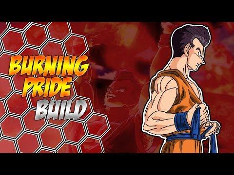Burning Pride Build [Male Earthling Kaioken Synergy] Dragon Ball Xenoverse 2