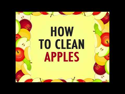 How to Clean Apples