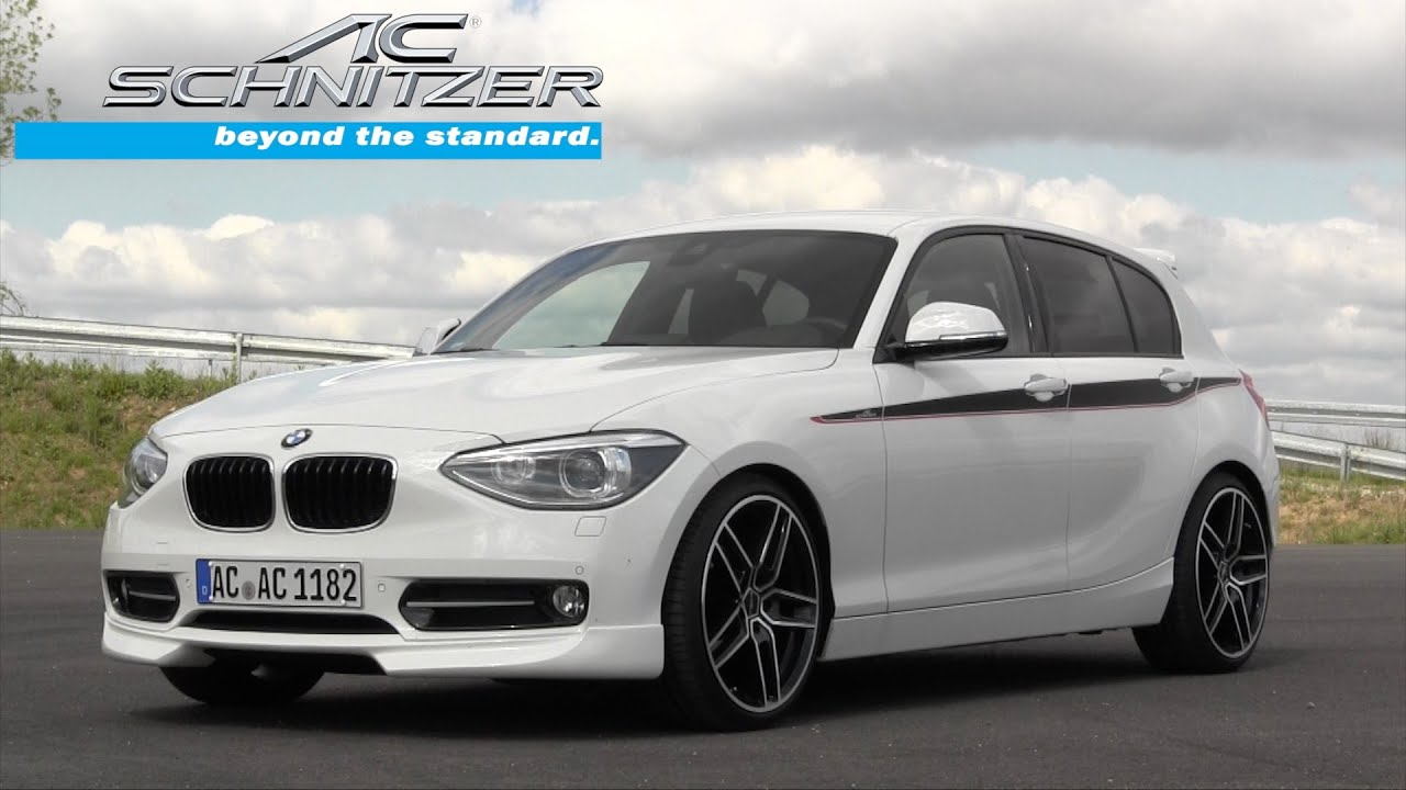 Bmw 1er By Ac Schnitzer Acs1 Youtube