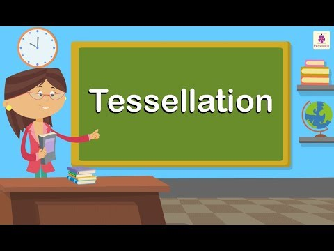 Tessellation | Maths For Kids | Grade 3 | Periwinkle