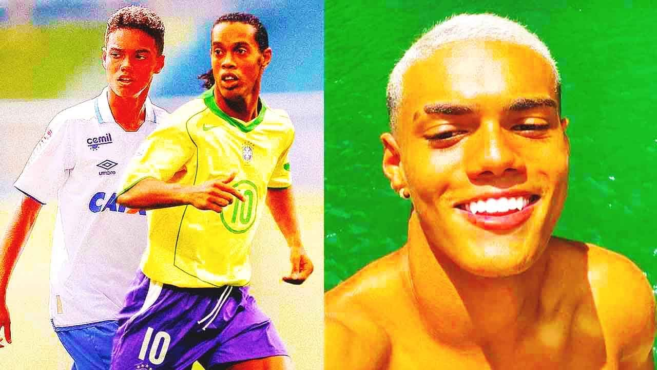 THIS IS HOW RONALDINHO's SON LIVES in 2021   Joao Mendes