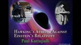 How Hawking's Atheism violates Einstein's Relativity