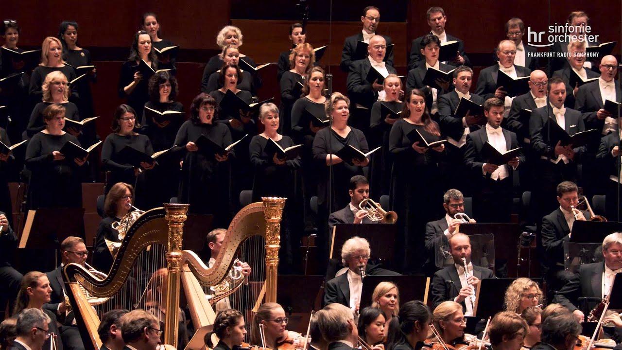 Brahms: Ein deutsches Requiem ∙ hr-Sinfonieorchester ∙ MDR-Rundfunkchor ∙ Solisten ∙ David Zinman