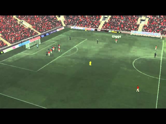 Man Utd vs Stoke - Vidic Goal 86 minutes