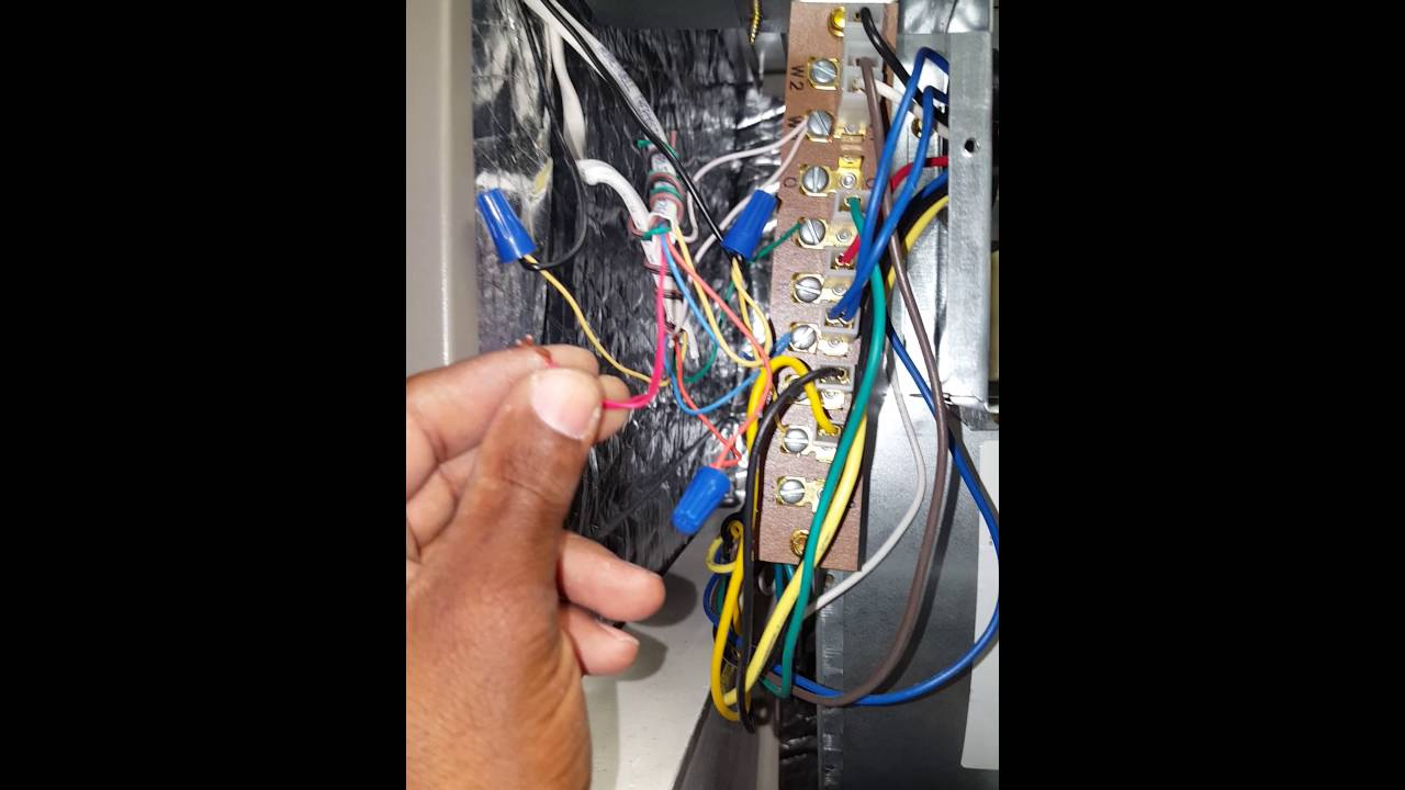 Hvac Commercial Smoke Detector Wiring Youtube