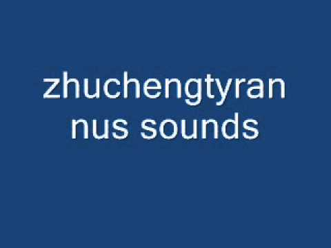 zhuchengtyrannus sounds
