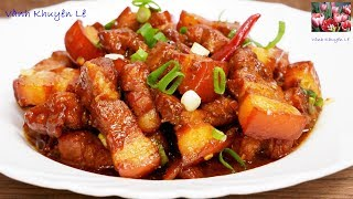 THỊT KHO vừa ngon vừa đẹp - Bí quyết kho Thịt có màu đẹp và thơm ngon by Vanh Khuyen