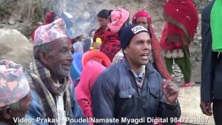 New Nepali Panche Baja 2073 at Myagdi part 1 म्याग्दीको पञ्चेबाजा २०७३
