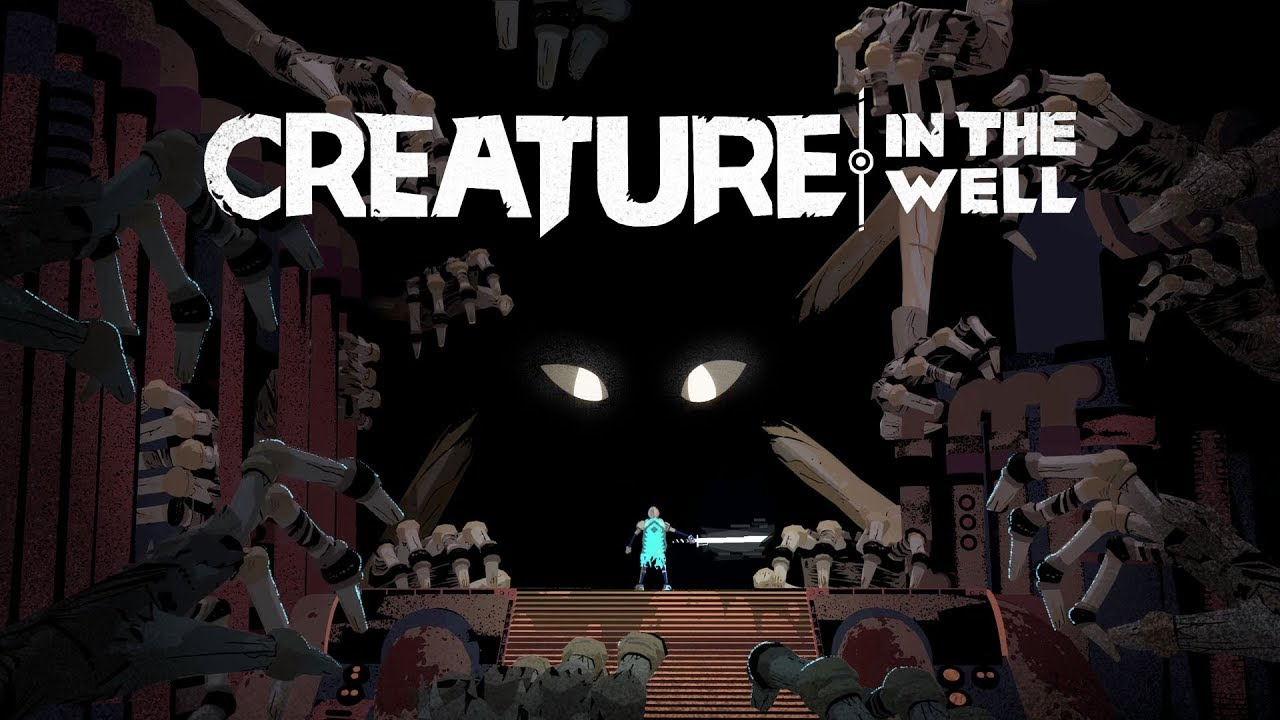 Pinball-inspired slash 'em up Creature in the Well is out
