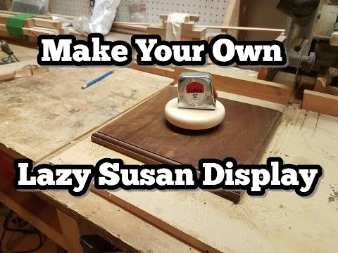 DIY Lazy Susan Display