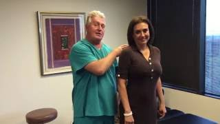 "Houston Chiropractor Dr Gregory Johnson ""Ring Dinger"" Of The Day Helps Patient Grow Taller"