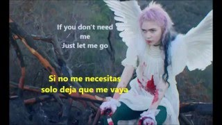 Grimes -  Flesh Without Blood Lyrics (Ingles - español)