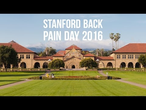 Stanford University Back Pain Education Day 2016