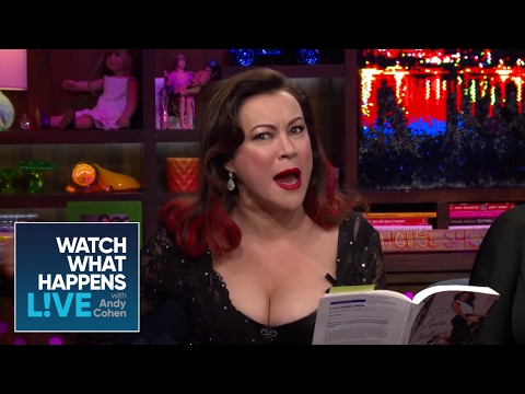 Jennifer Tilly Dramatically Reads of Bravolebrities' Books - WWHL
