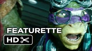 Teenage Mutant Ninja Turtles Featurette - Meet Donatello (2014) - Ninja Turtle Movie HD