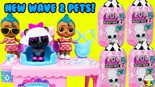 NEW LOL Surprise Fuzzy Pets Wave 2 Pet Shop Grooming With LOL Boys Luau & Maui Twins