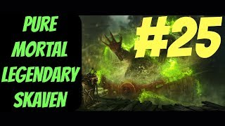 Pure Mortal Legendary Skaven Campaign #25 (Queek) -- Total War: Warhammer 2
