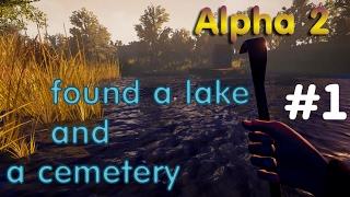 Hello Neighbor Alpha 2 Нашёл озеро и кладбище