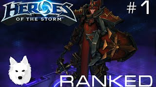 Heroes of the Storm Ranked Gameplay ♛ Johanna #1 ♛ Rank 1 ♛ Commentary ♛ Master League ♛