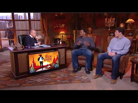 Former NFL LB Willie McGinest & Panthers LB Luke Kuechly Join The RES in Studio - 1/26/15